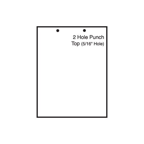 "TST Impreso 8.5"" x 11"" Blank Pre-Perfed and Punched Copy Paper with 2 Hole Punch Top (2500 Sheets)"