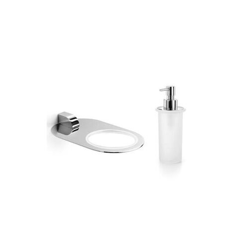 Muci Wall-Mount Soap Dispenser and Holder