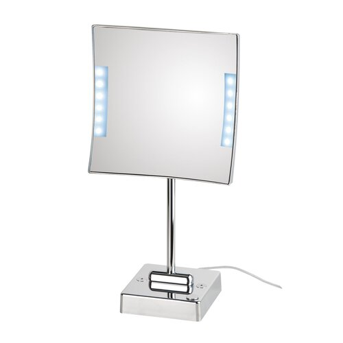 Mirror Pure Quadrololed Magnifying Cosmetic Mirror with Lighting