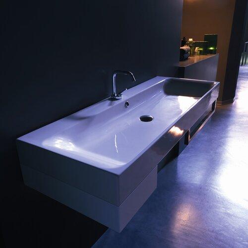 Ada Corner Sink : Kerasan Cento Wall Mounted / Vessel Bathroom Sink
