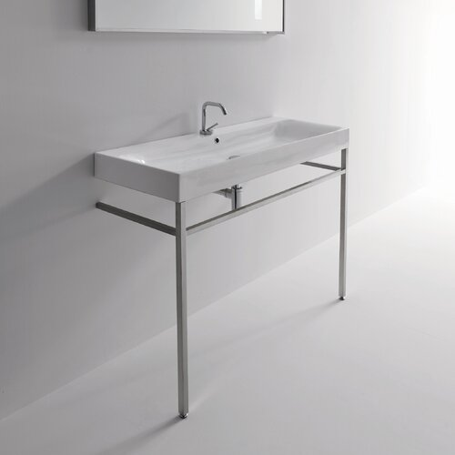 Standing Sink : WS Bath Collections Kerasan Cento Free Standing Bathroom Sink