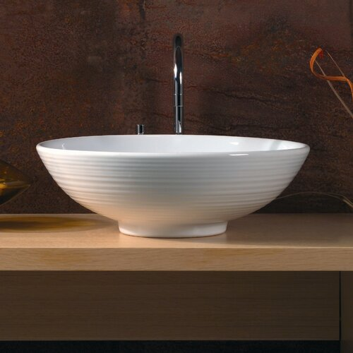 WS Bath Collections Ceramica Vessel Sink in White & Reviews Wayfair