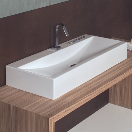 WS Bath Collections Ceramica I Bathroom Sink
