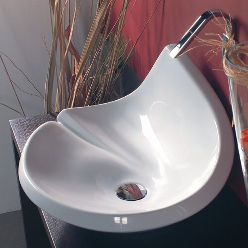 Ceramica Valdama LVA Vessel Bathroom Sink
