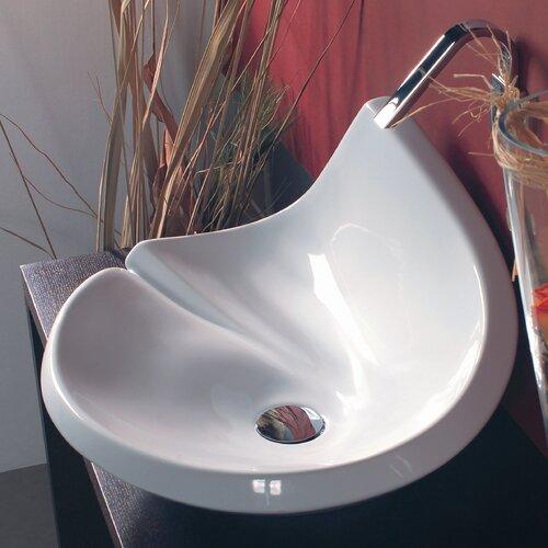Ceramica Valdama LVA Vessel Bathroom Sink