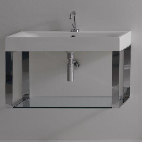Kerasan Cento Wall Mounted Bathroom Sink
