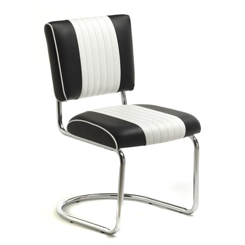 Retro Racer Back Side Chair