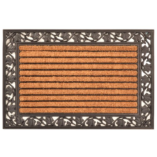Design by AKRO Ivy Leaf Cocoa Mat