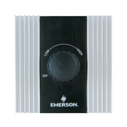 Emerson Ceiling Fans Industrial Heat  Rotary Ceiling Fan Wall Control