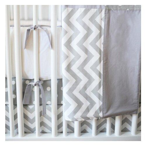 Zig Zag Baby 4 Piece Crib Bedding Set
