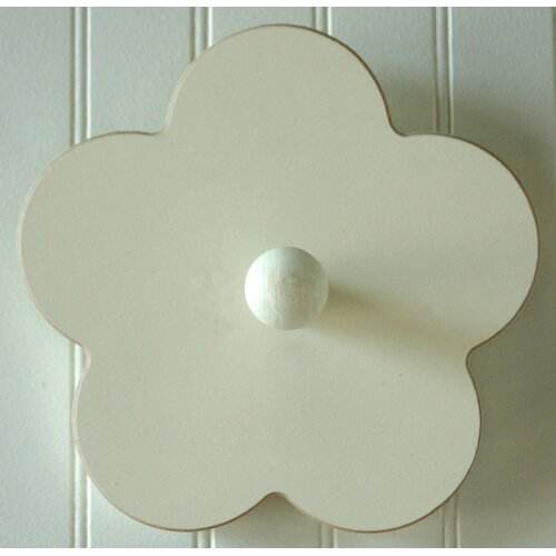 Hand Painted Flower Coat Hook
