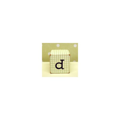 "New Arrivals ""d"" Letter Block"