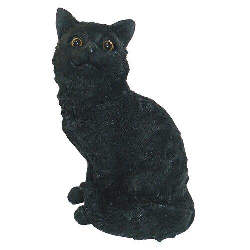 Michael Carr Cat Sitting Up Statue