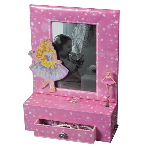 Mele & Co. Paige Girl's Musical Ballerina Photo Frame Jewelry Box