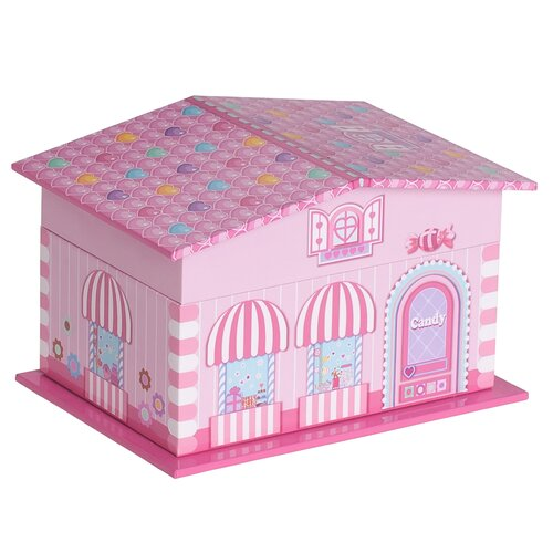 Lily Girl's Musical Ballerina Jewelry Box