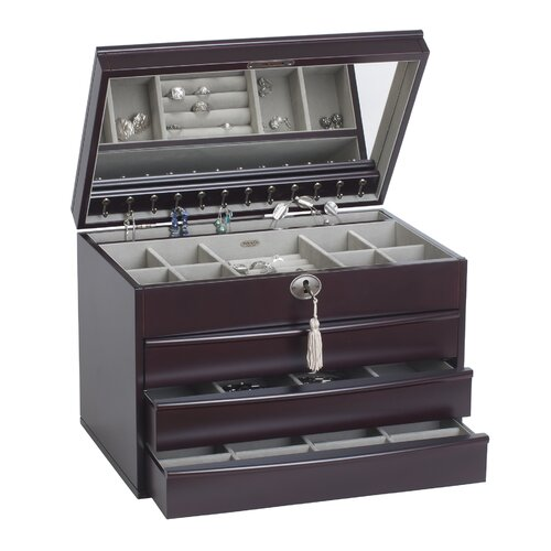Mele & Co. Lexington Large Jewelry Box
