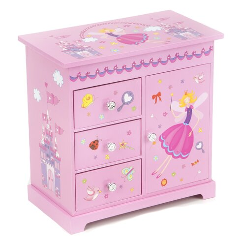 Krista Girl's Musical Ballerina Jewelry Box