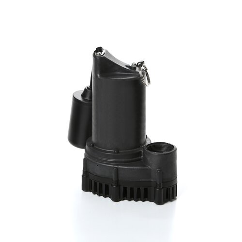 51 GPM Tether Float Switch Thermoplastic Sump Pump