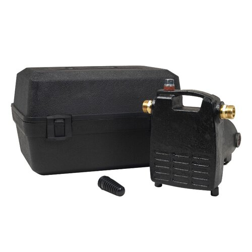 1/2 HP Cast-Iron Transfer Utility Pump with Carrying Case