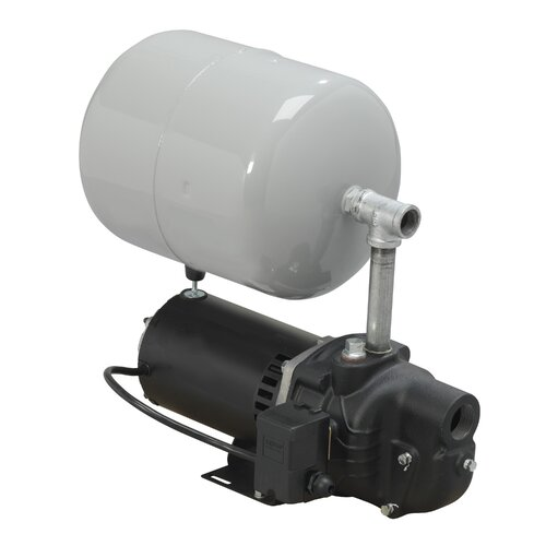 WAYNE 1/2 HP Shallow Well System with 4.4 Gallon Well X-Trol Precharged Tank