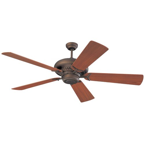 "Monte Carlo Fan Company 60"" Grand Prix 5 Blade Ceiling Fan"