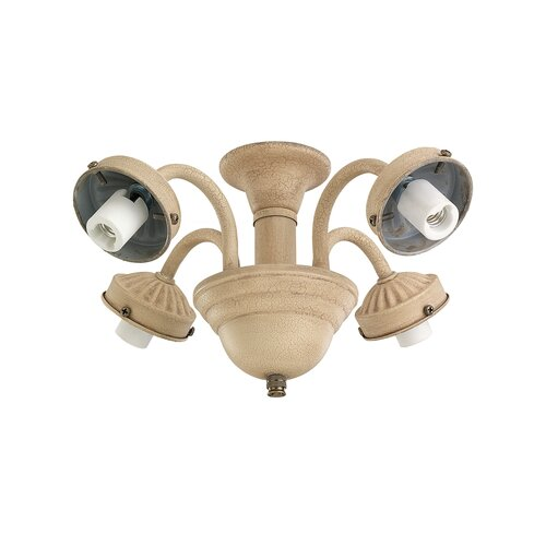 "Monte Carlo Fan Company 2.25"" Four Light Ceiling Fan Fitter"
