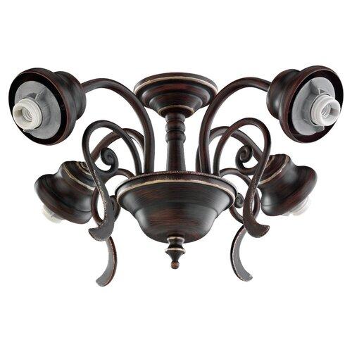 Monte Carlo Fan Company Four Light Fitter