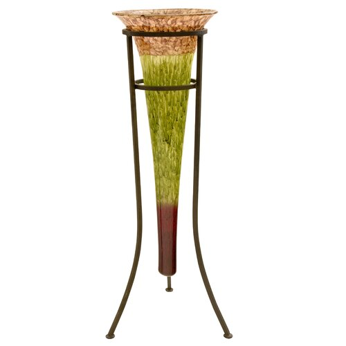Handmade Blown Amphora Vase