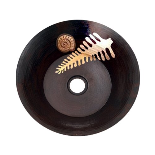 Ambiente Copper Handmade Round Vessel Bathroom Sink