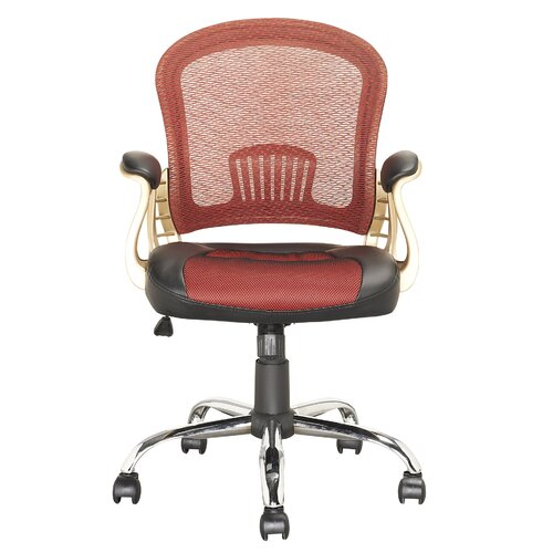 Workspace Mid-Back Mesh Executive Office Chair with Arms