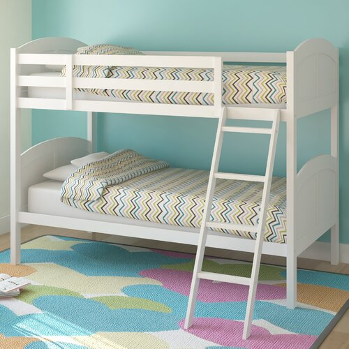 dCOR design Concordia Twin Bunk Bed with Removable Ladder