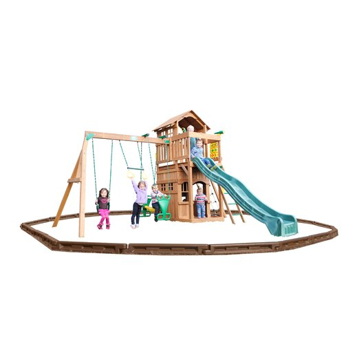 Madison Swing Set with Play Zone Components