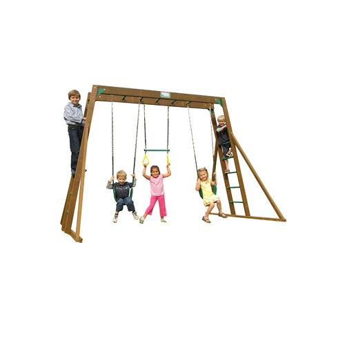 Playtime Swing Sets Classic Top Ladder Swing Set