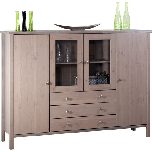 Home Essence Oslo Glazed High Sideboard