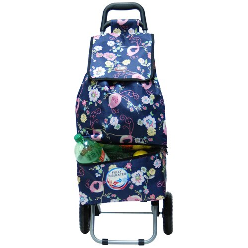 Canal Floral Shopping Tote