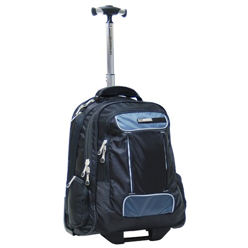 CalPak Armor Satellite Rolling Laptop Backpack
