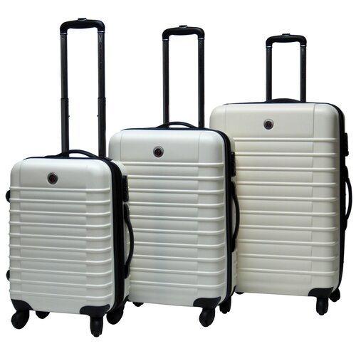 CalPak Cyprus Expandable Hardsided 3 Piece Luggage Set