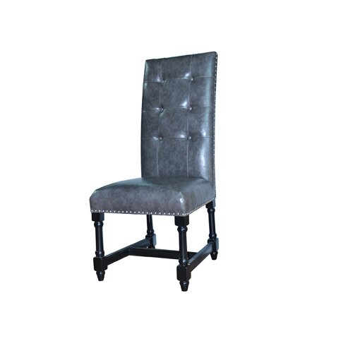 Camden Leather Side Chair