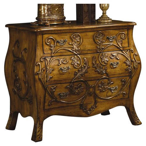 Crestview Collection 3 Drawer Chest