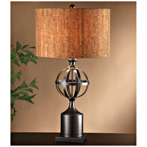 Crestview Collection Hemisphere 1 Light Table Lamp