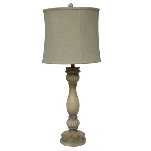 "Crestview Collection Colony Bay 36"" H Table Lamp with Bell Shade"