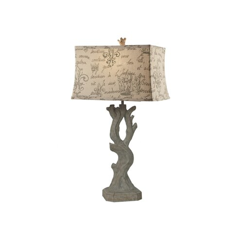 "Crestview Collection Beach 30.75"" H Table Lamp with Rectangle Shade"
