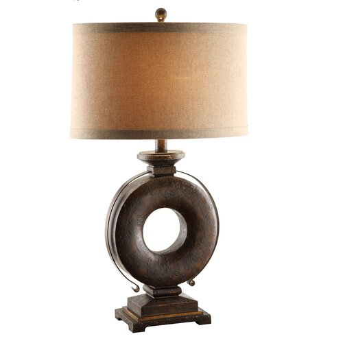 """Crestview Collection Kelsey 32.5"""" H Table Lamp with Drum Shade"""