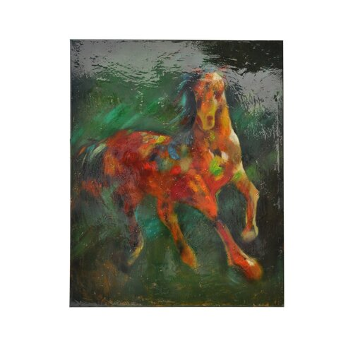 Traveller Emerging Original Painting on Canvas