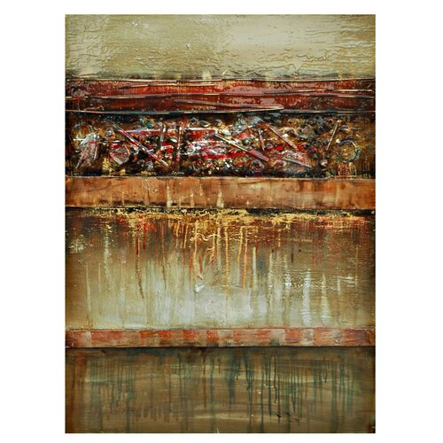 Crestview Collection Stratum Painting Print