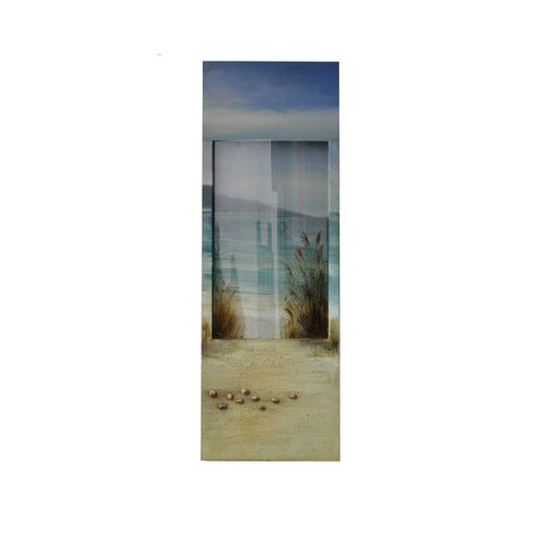 Sanibel Mirror Graphic Art on Canvas