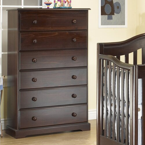 Sorelle Sophia 6-Drawer Chest