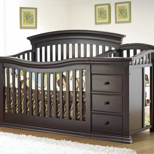 Sorelle Verona Crib and Changer