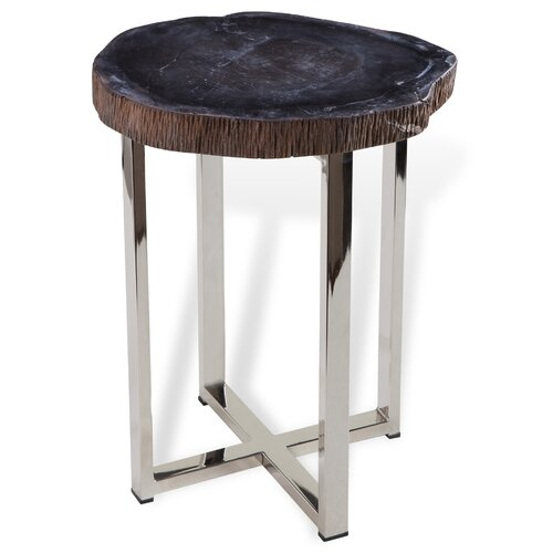 Banten tall end table wayfair for Tall side table