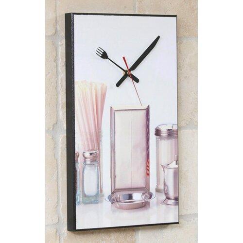 Retro Kitchen Clock Wayfair